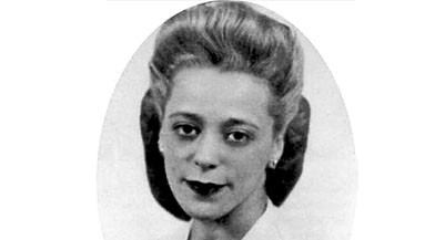 UNDATED -- Undated archival handout photo of Viola Desmond. On April 15, 2010, the Nova Scotia legislature will grant a controversial, posthumous pardon to Desmond, whom many consider Canada's Rosa Parks. In 1946 Viola Desmond was arrested and jailed for sitting in the whites-only section of a local cinema. The case ignited the civil rights movement in Canada.   MANDATORY CREDIT:   HANDOUT PHOTO: Effective Publishing Ltd.        For Richard Foot (Canwest)    CNS-PARDON