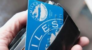 Air Miles points rewards card. (Mario Beauregard/CP)