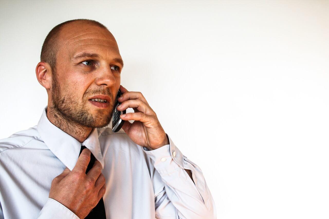 financial advisor nervous