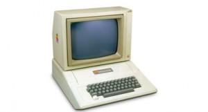 UNITED STATES - NOVEMBER 30:  The Apple II was designed and built by Steve Jobs and Steve Wozniak by the end of 1976. It was the first mass-marketed personal computer. The Apple II was a single-board computer like the Apple I, but the Apple II was much improved, going several steps further than its predecessor. The Apple II had the BASIC (Beginner's All Symbolic Instruction Code) programming language built in, and it had the ability to display text and graphics in colour.  (Photo by SSPL/Getty Images)