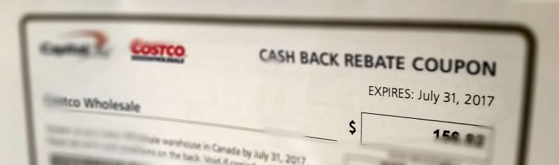 costco cash back rebate coupon