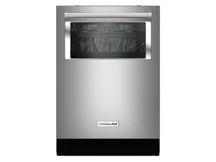 KitchenAid Dishwasher with Window and Lighted Interior