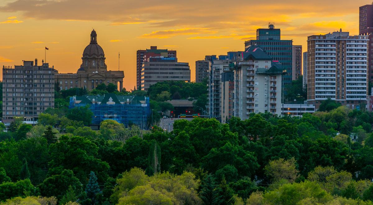 Edmonton skyline edmonton real estate