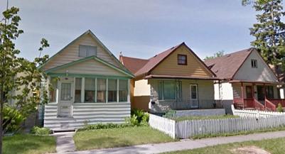 North End in Winnipeg (Google Earth)  https://goo.gl/maps/uPcRT4nAVHn