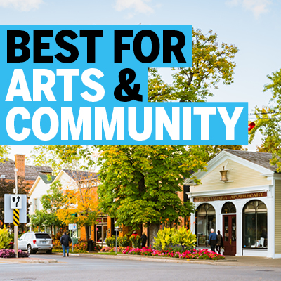 Best Places for Arts & Community