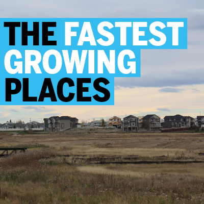 The Fastest Growing Places