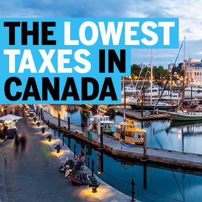 Lowest Taxes in Canada