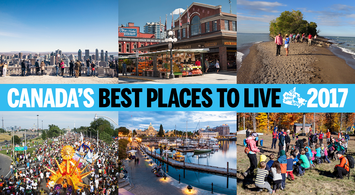 Where is the best place to live in canada best place 2017 for Good places to live in california