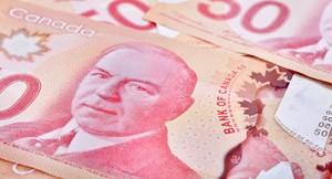 Canadian money 50 dollar note
