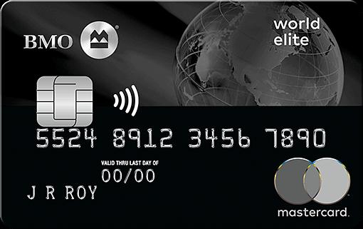BMO World Elite Mastercard EN