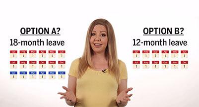 18-month parental leave