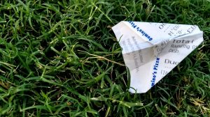 receipts while travelling
