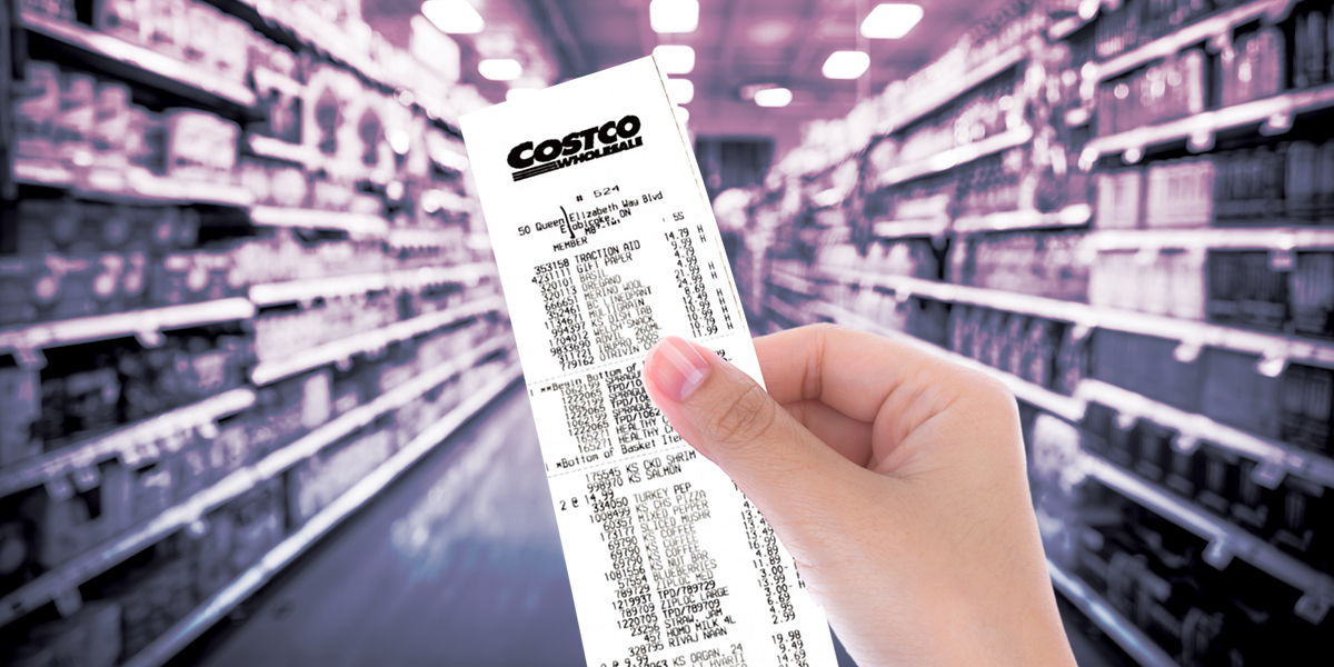costco receipt