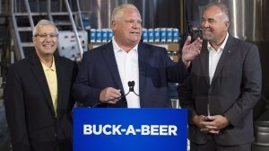buck-a-beer in ontario