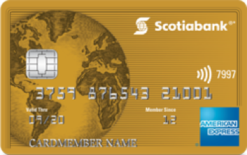 how to verify travel point scotia amex credit card