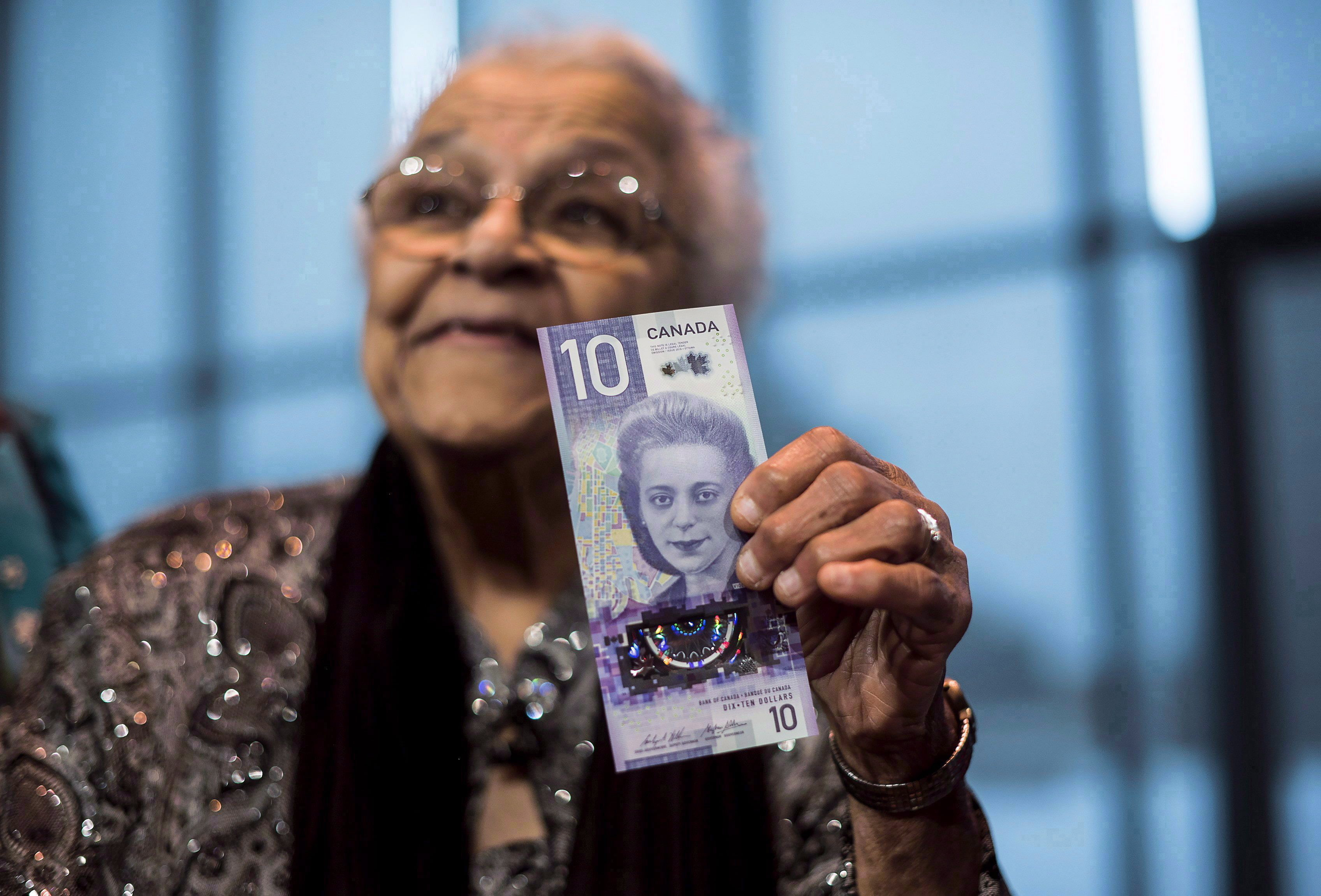 wanda robson viola desmond $10 bill