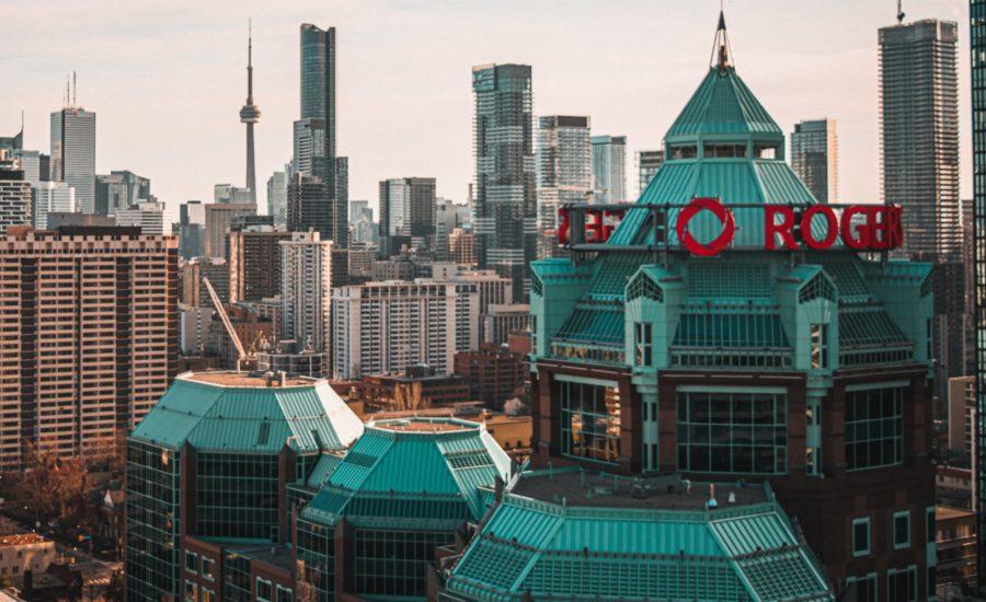 Rogers headquarters in Toronto