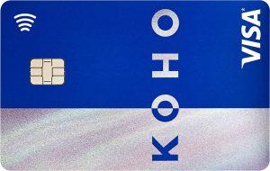 The Koho credit card.