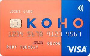 Koho Visa card