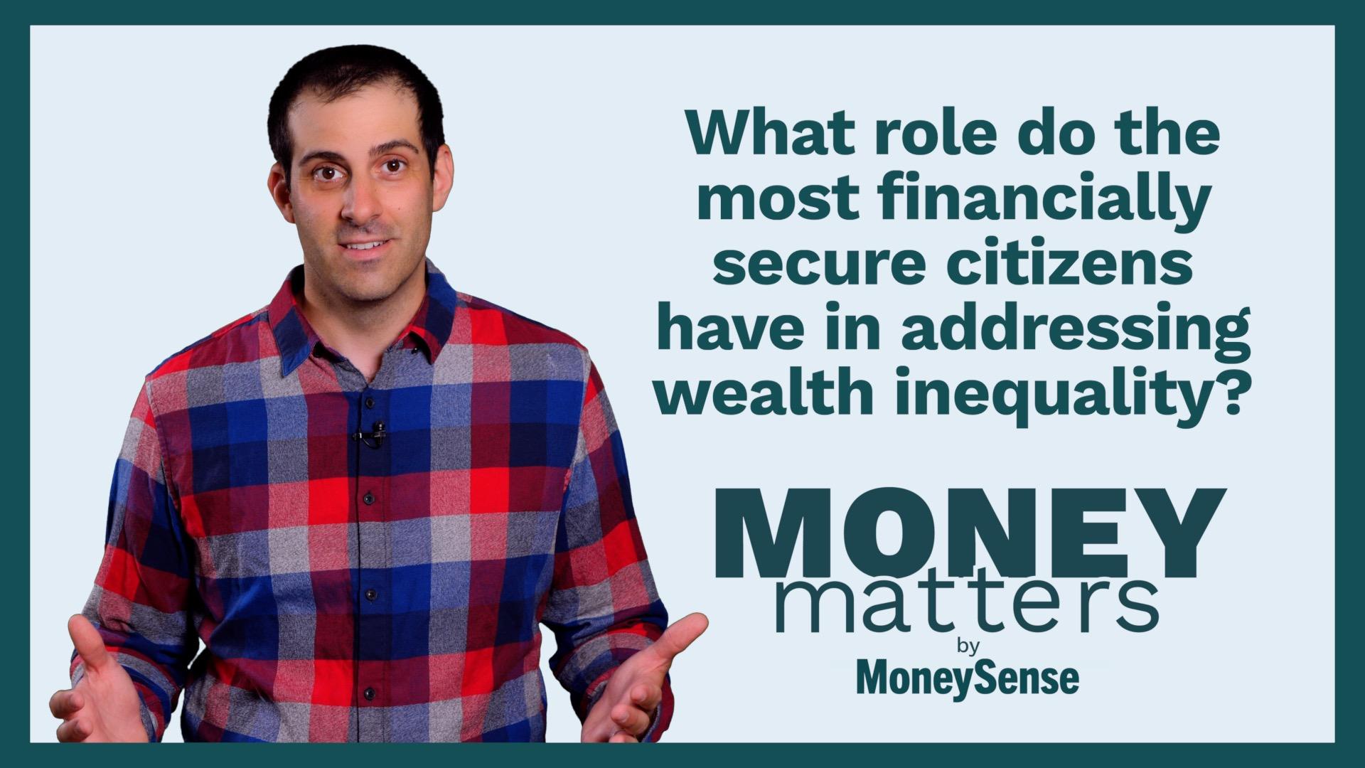 MoneySense general manager Jon Vassallo hosts the Money Matters video series