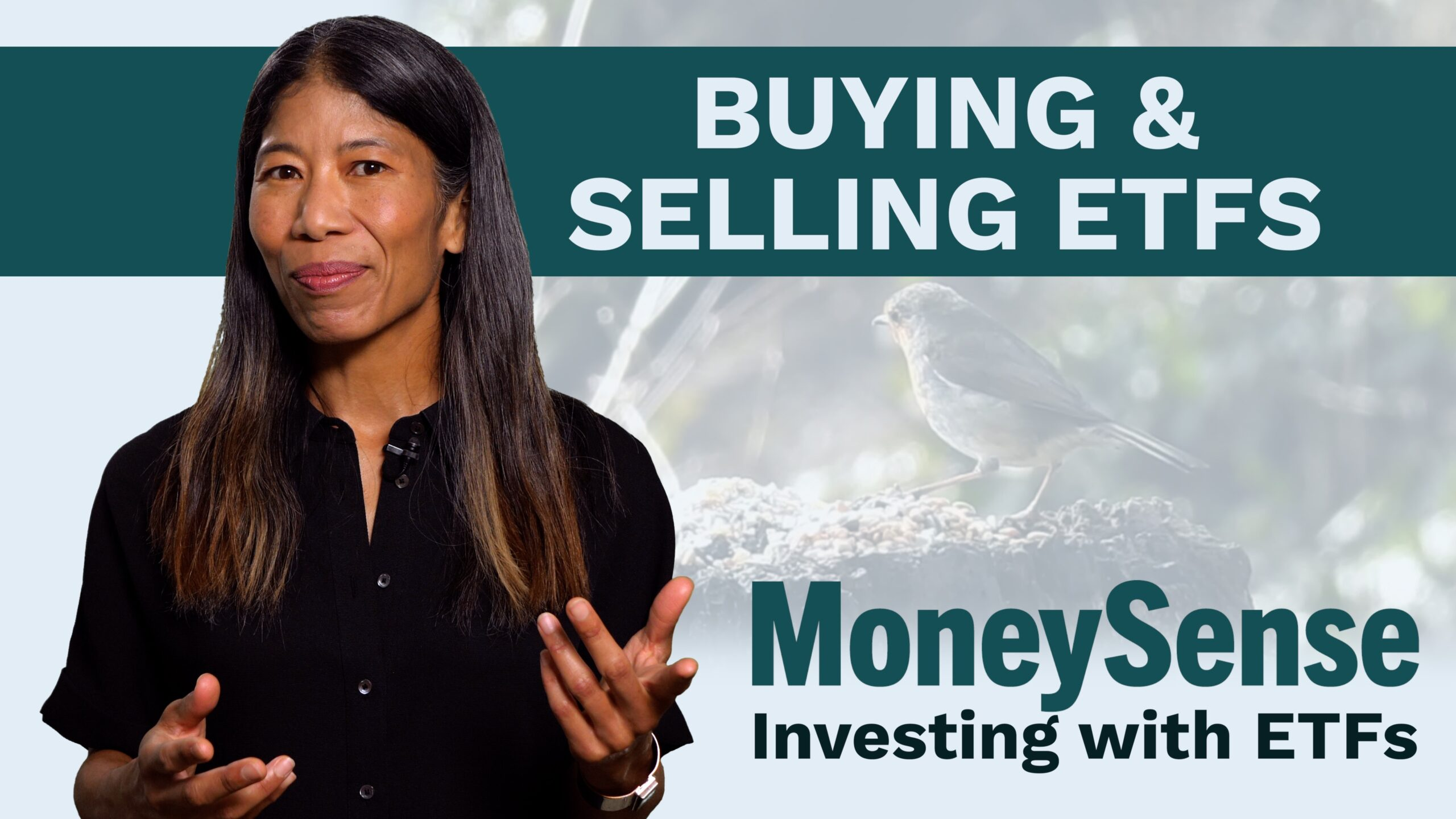 moneysense editor discusses how to buy and sell etfs