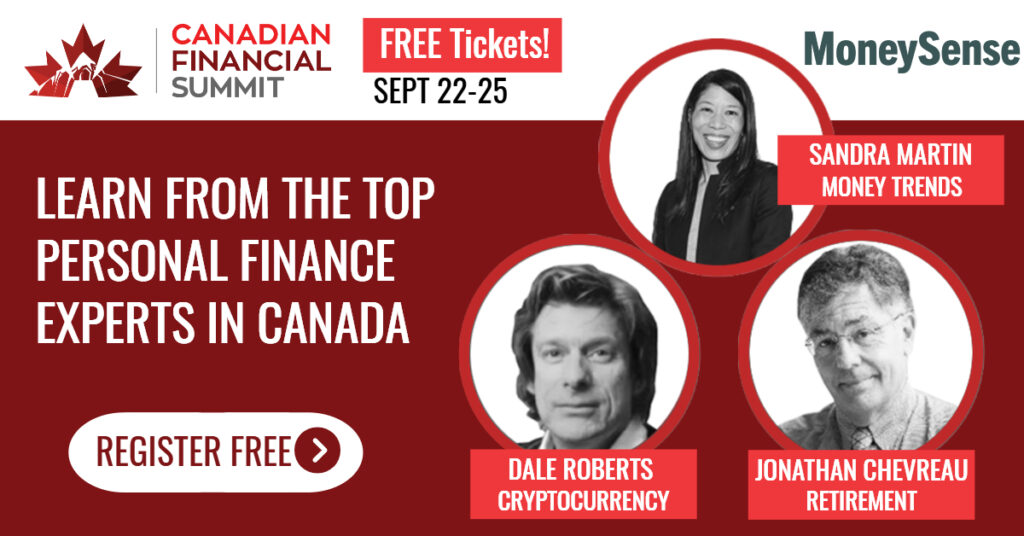 Canadian Financial Summit link to free registration
