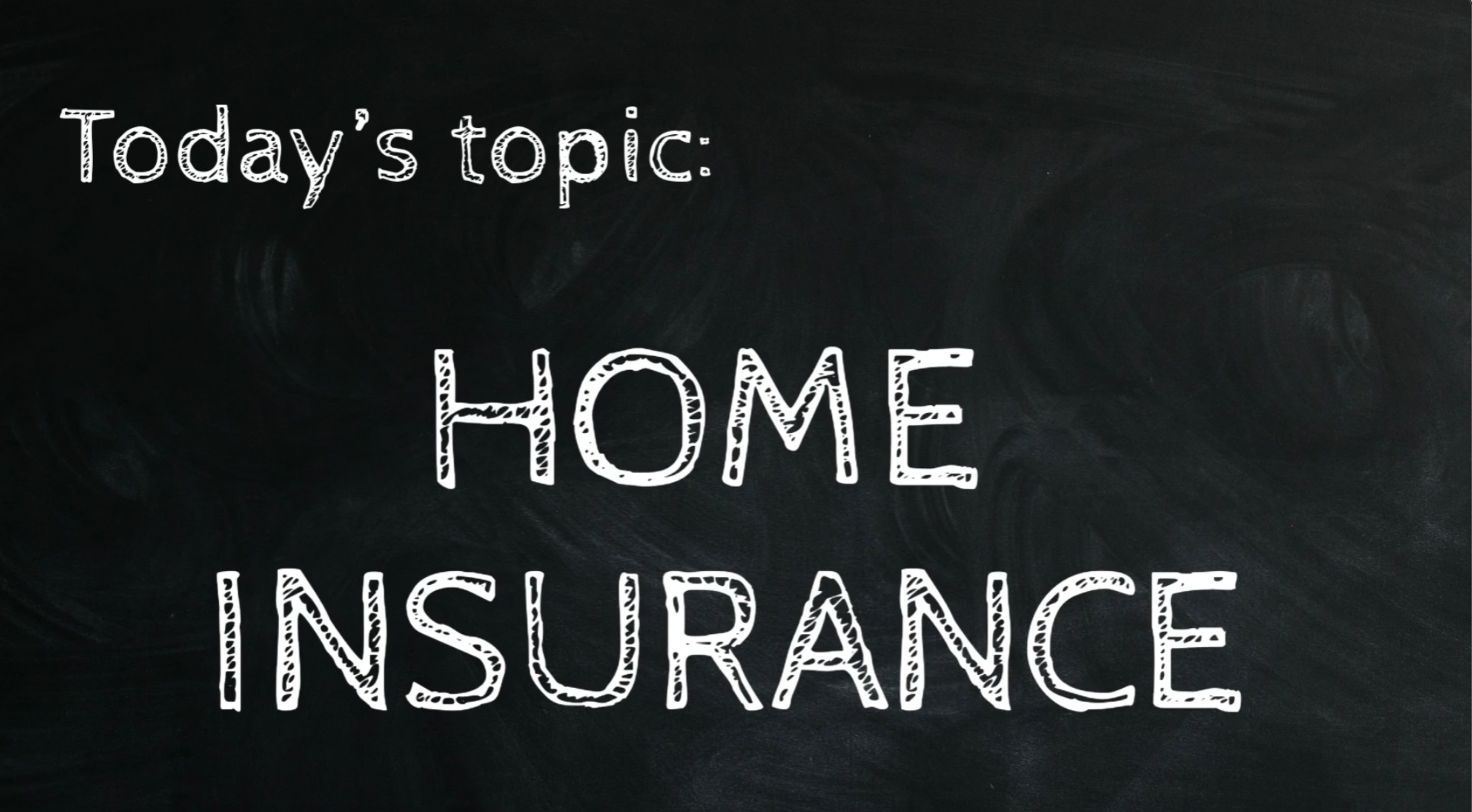 """Tap to watch """"Home insurance"""""""
